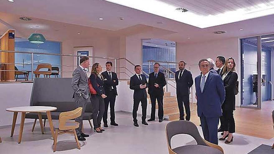 BBVA inaugura un Centro de Banca de Clientes en la plaza del Olivar de Palma
