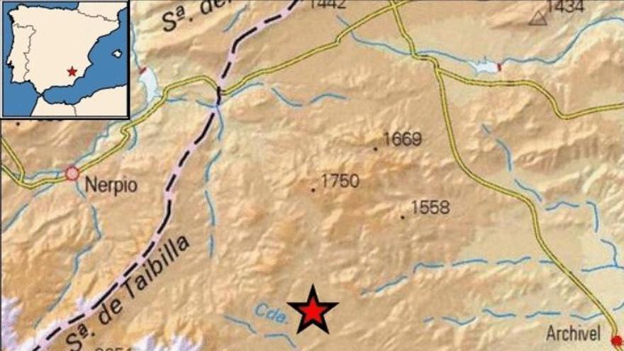 Ocho terremotos, uno de ellos de 3,1 grados, en tan solo cuatro horas en la Región