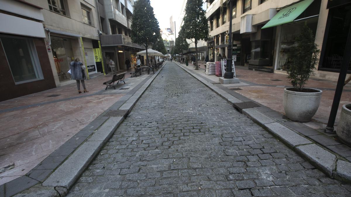 La calle Gil de Jaz.