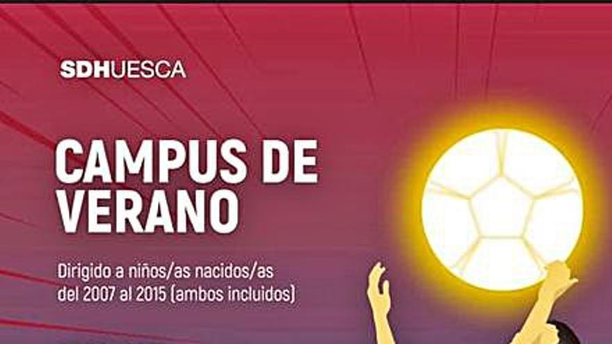El campus de la SD Huesca, del 22 al 25 de junio