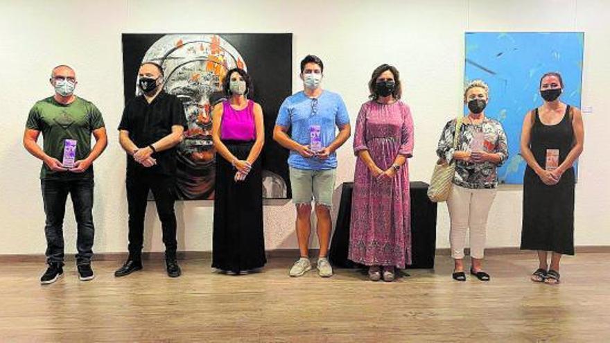 Q-ART premia a Denislav Mitkov, Fernando Jiménez y Tania Ansio