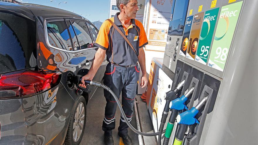 Las gasolinas agravan el coste energético en Galicia con precios inéditos desde 2014