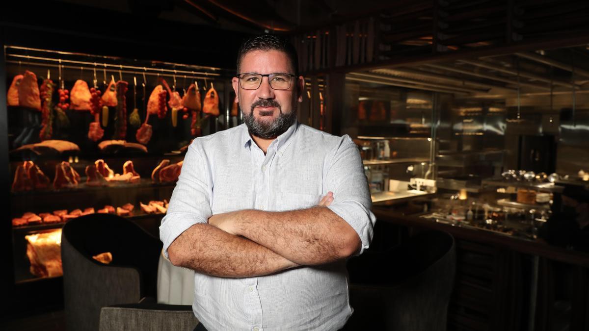 El cocinero Dani García.