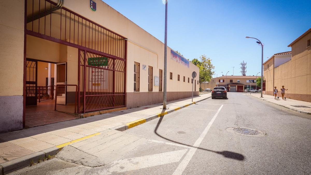 Centro de día de Llera, cerrado desde junio del 2020.