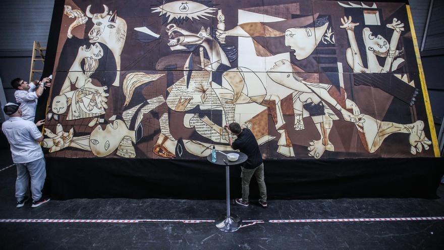 El Guernica de Picasso, protagonista en el Salón del Chocolate de París