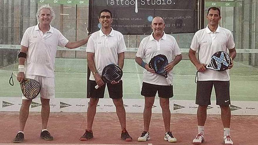 Rodríguez y Seguí ganan el 'Business Cup'