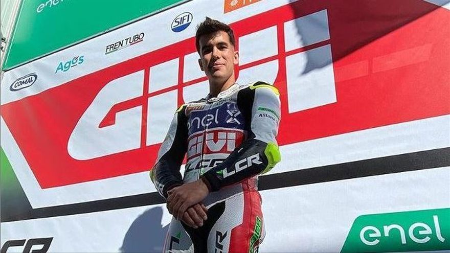 Miquel Pons, en el circuito de Jerez.