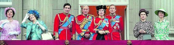 Fotograma de 'The Crown', en el que aparece parte de la familia real británica. | | NETFLIX