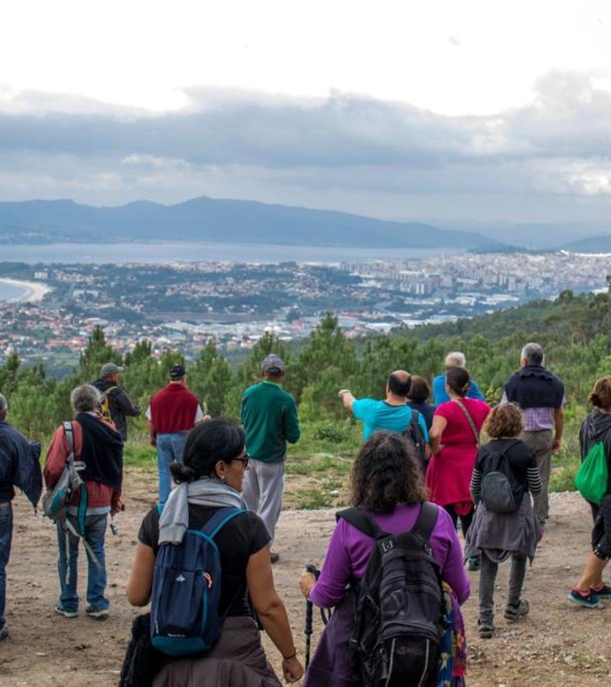 Así son las nuevas rutas guiadas, gratis y con conciertos por el Vigo verde