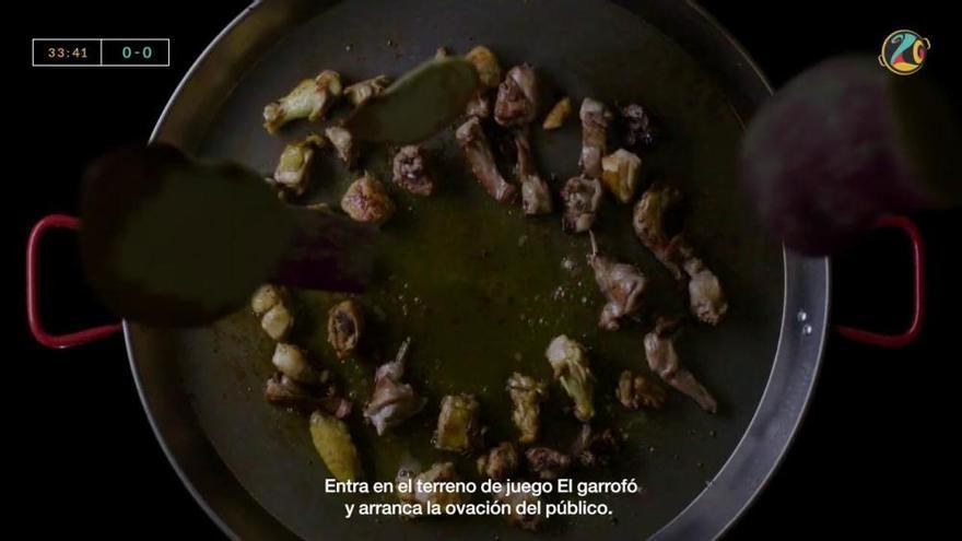 """Así es el original anuncio del """"World Paella Day"""" del domingo"""