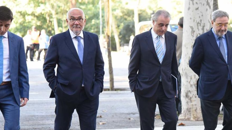 Els bagencs absolts del cas CX lamenten el «dany reputacional» que els ha provocat