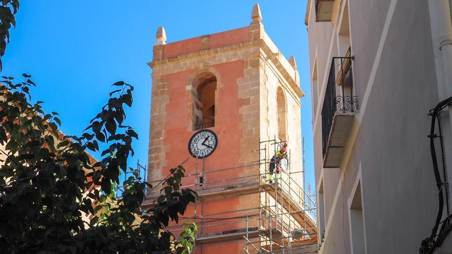 Finaliza la restauración del campanario de la iglesia de Nuestra Señora de la Asunción de La Vila