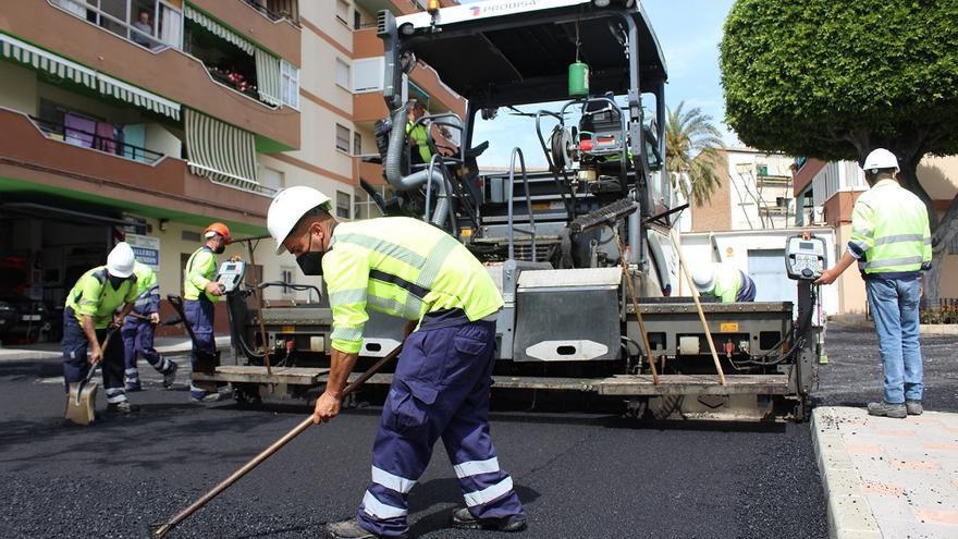 Fuengirola pone en marcha un Plan de Asfalto que llegará a una veintena de calles
