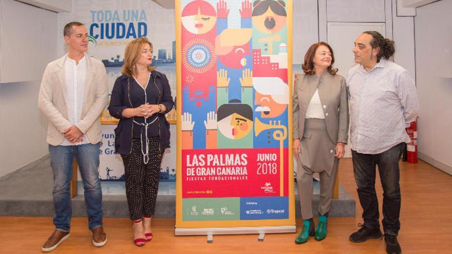 Saro León pregona las Fiestas Fundacionales 2018