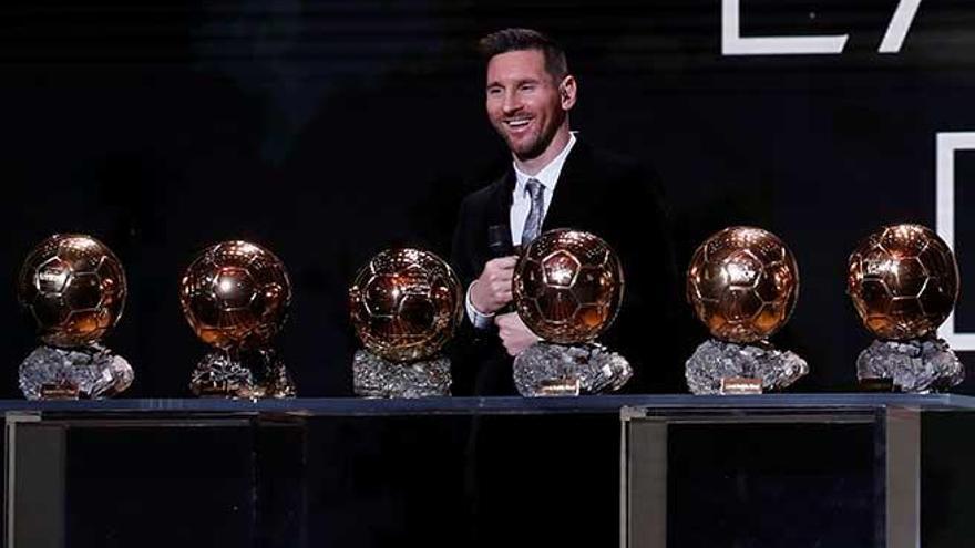 Messi ganó el Balón de Oro por solo siete puntos sobre Van Dijk