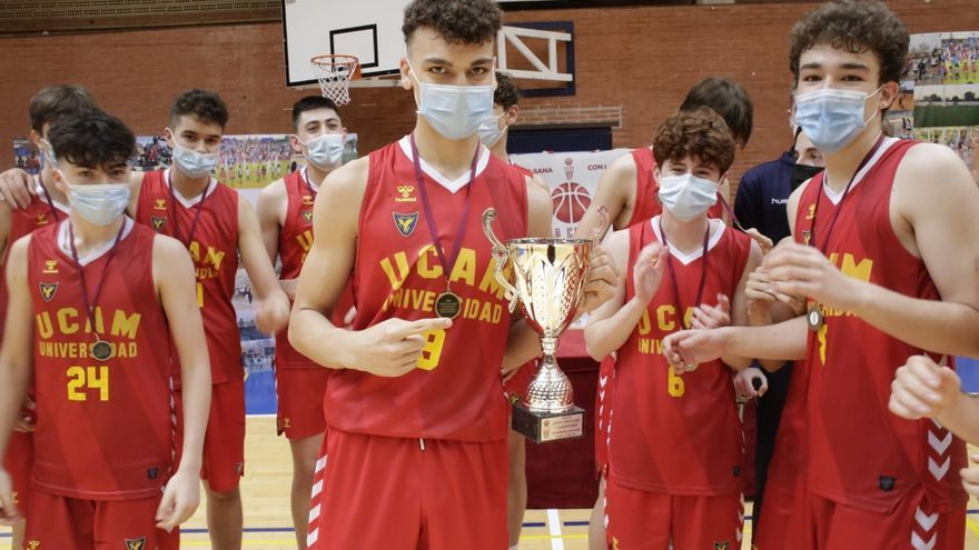 El UCAM Murcia A, campeón regional cadete masculino