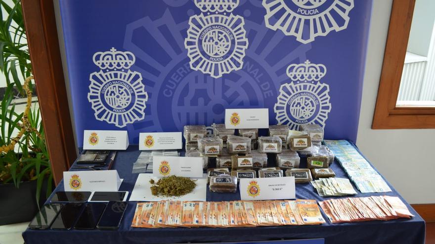 Incautados 11 kilos de hachís y detenidos cuatro varones en Zamora