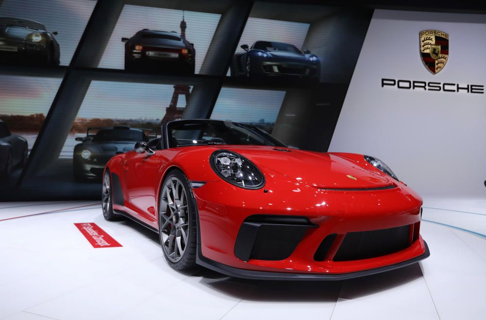 El modelo Porsche Speedster Concept.