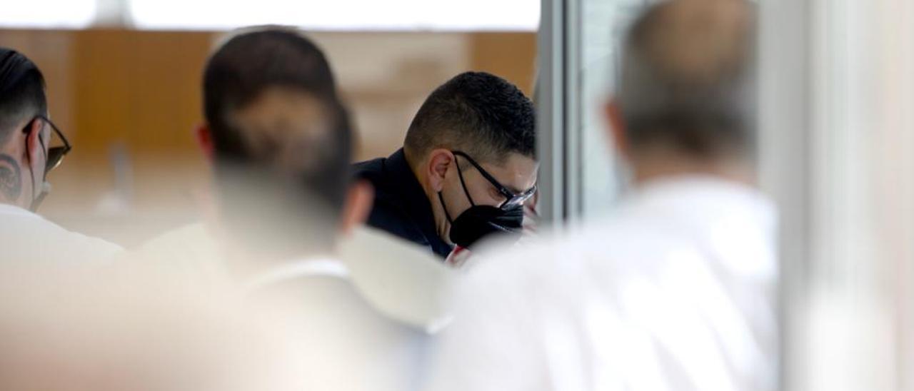 Los acusados del robo al Grupo Empresas Matutes llegan a los juzgados de Ibiza