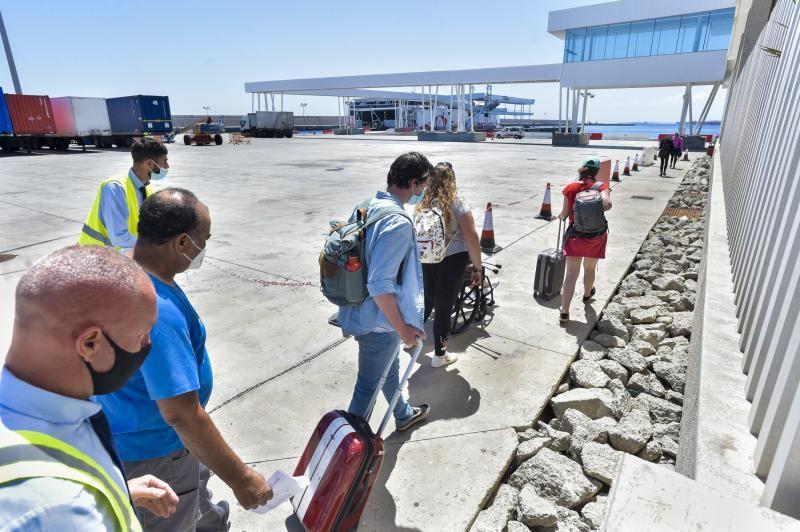 El Puerto de La Luz despliega las salidas por Semana Santa