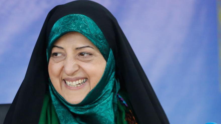 Contagiada de coronavirus la vicepresidenta de Irán