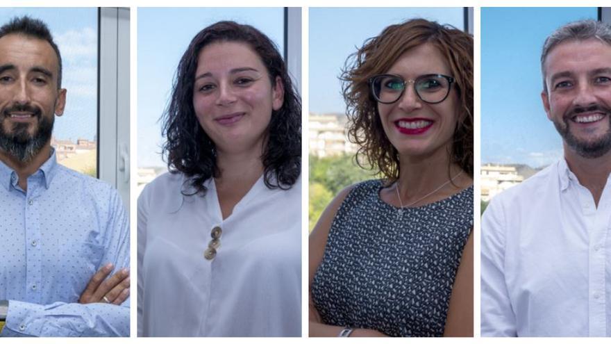 Cuatro finalistas aspiran al Premio Jovempa al Talento Empresarial