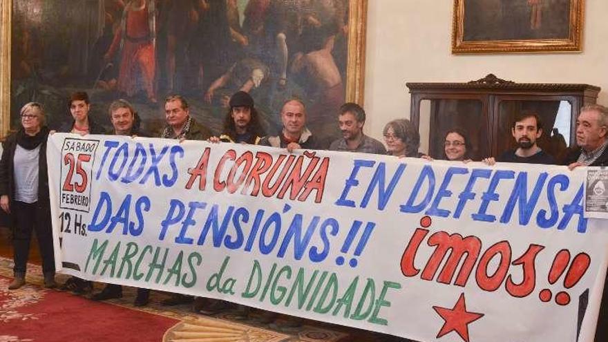 Las Marchas da Dignidade organizan el sábado una manifestación en A Coruña
