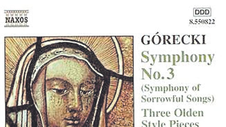 Sinfonía de las Lamentaciones, de Henryk Górecki