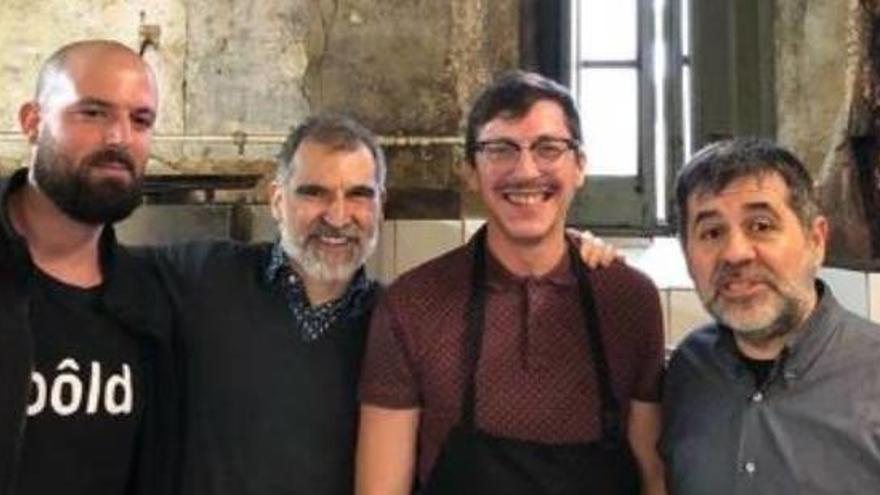 Els Jordis fan una sortida cultural al centre d'art del Konvent