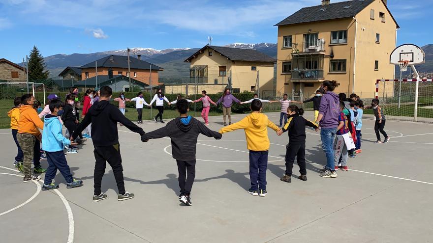 Alumnes de Puigcerdà aprenen a gestionar l'angoixa per la covid
