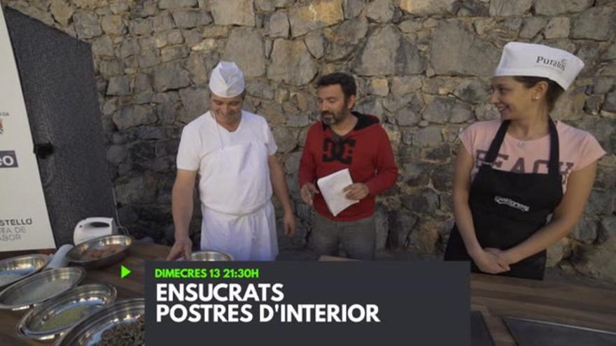 Ensucrats. Postres d'interior
