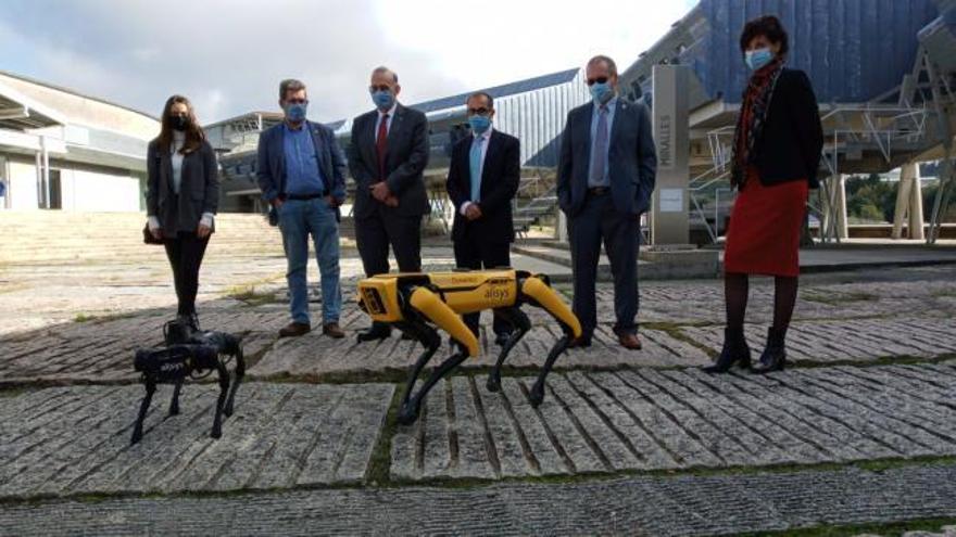 Estos robots conquistan la Universidad de Vigo