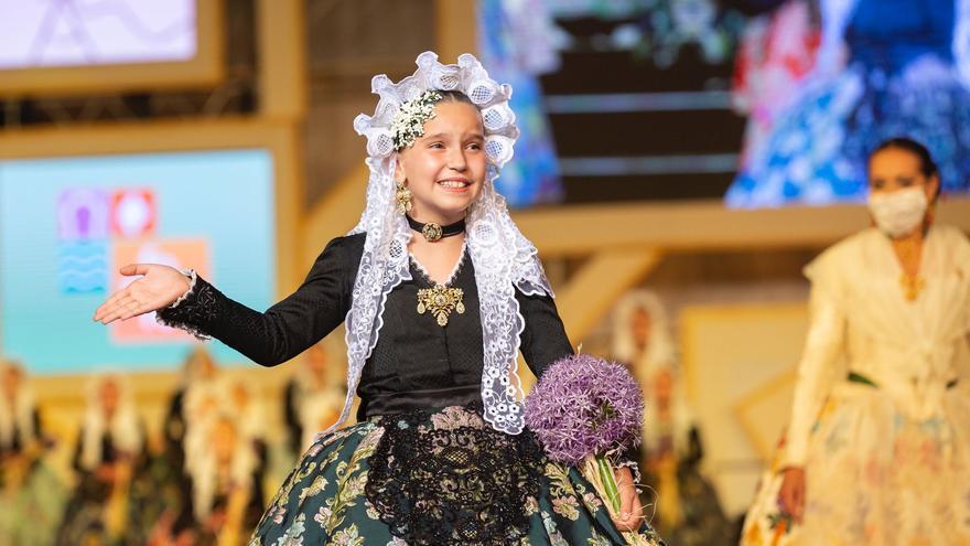 Valeria Gómez Villaescusa, de Baver-Els Antigons, nueva Bellea Infantil