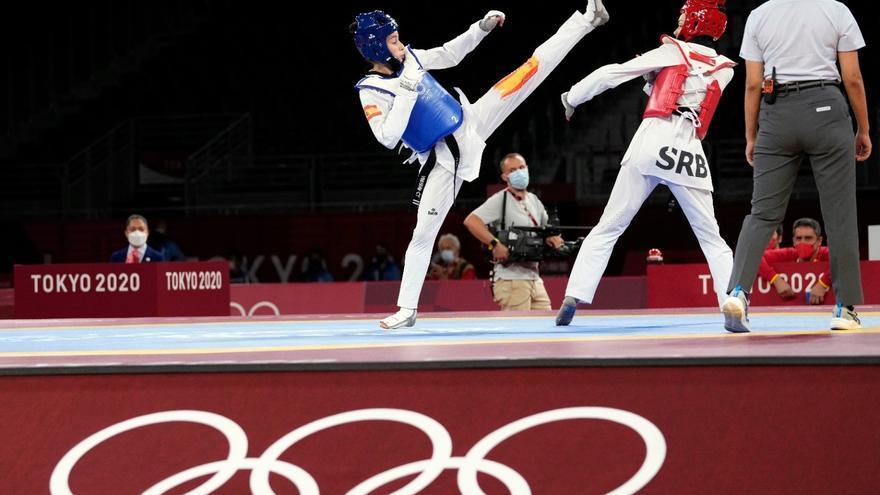 Adriana Cerezo llega a cuartos de final en su debut olímpico