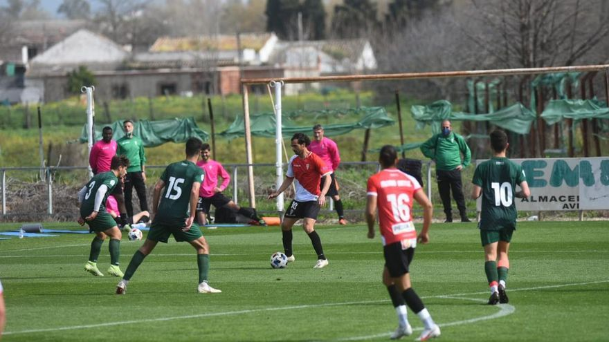En imágenes, partidillo entre el Córdoba Cf y el filial.