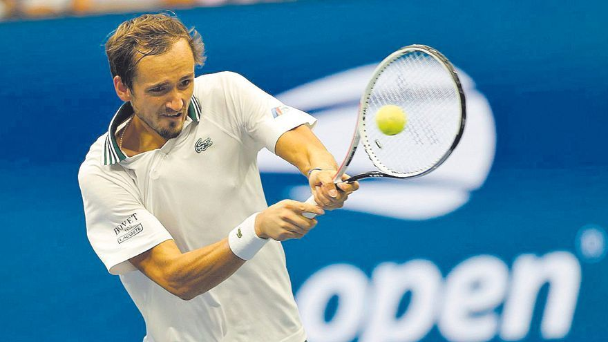 Medvedev pisa los cuartos del US Open