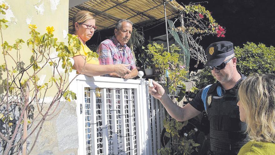 Continúa la obra del talud de Santa Lucía un año después de decretar el desalojo