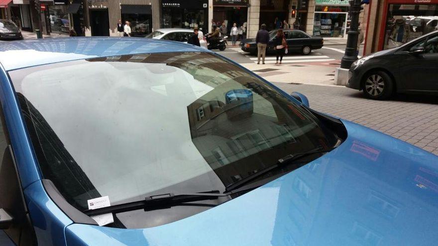 La sanción de más de 2.000 euros por mantener de esta manera el coche en la calle
