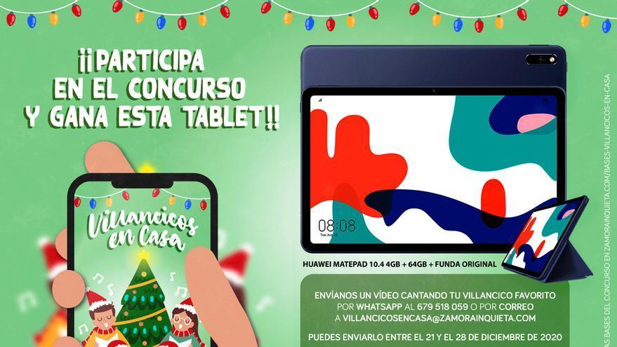 Comienza en Zamora el divertido concurso de 'Villancicos en Casa'