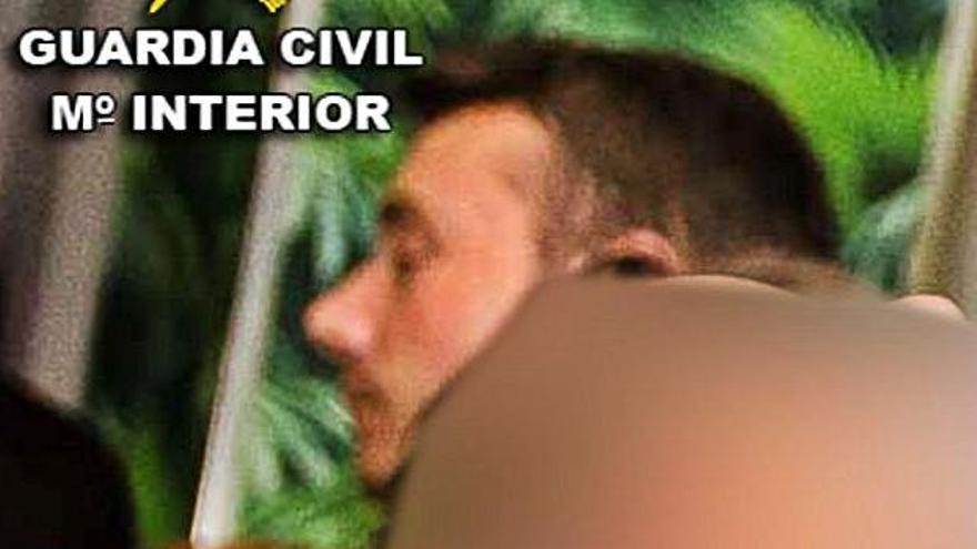 Imagen distribuida ayer por la Guardia Civil.