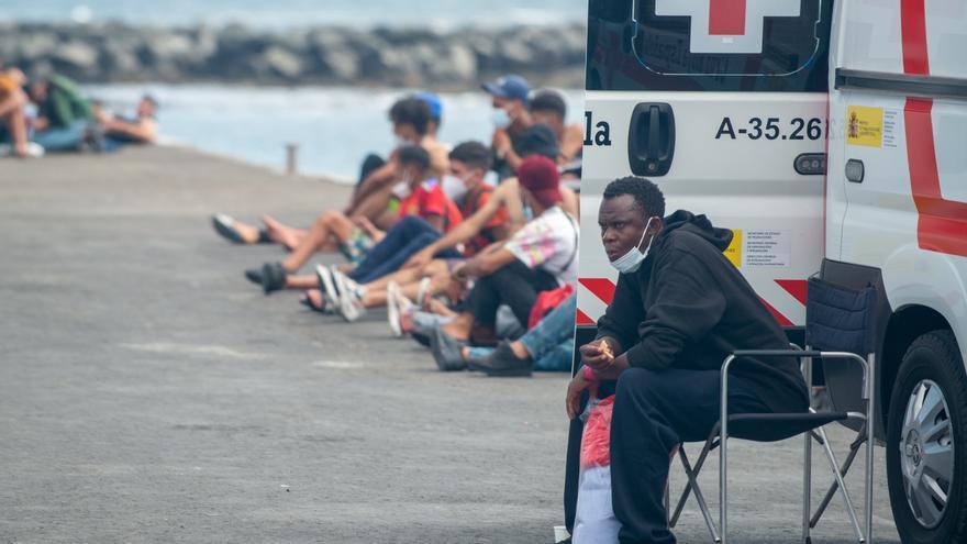 Llega una patera a Gran Canaria con un fallecido tras una semana en el mar