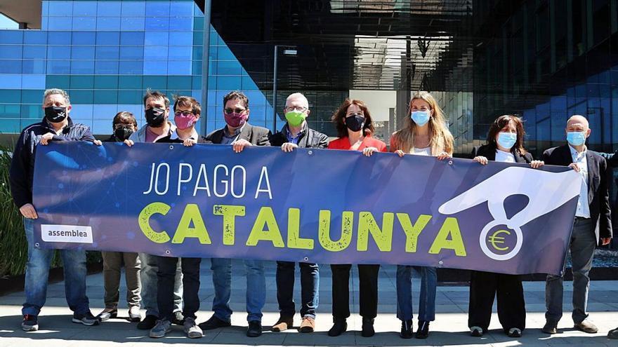 L'ANC impulsa el pagament de la renda a l'Agència Tributària de Catalunya
