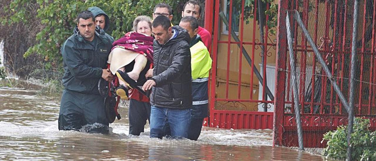 Las inundaciones de septiembre de 2019 anegaron la Vega Baja