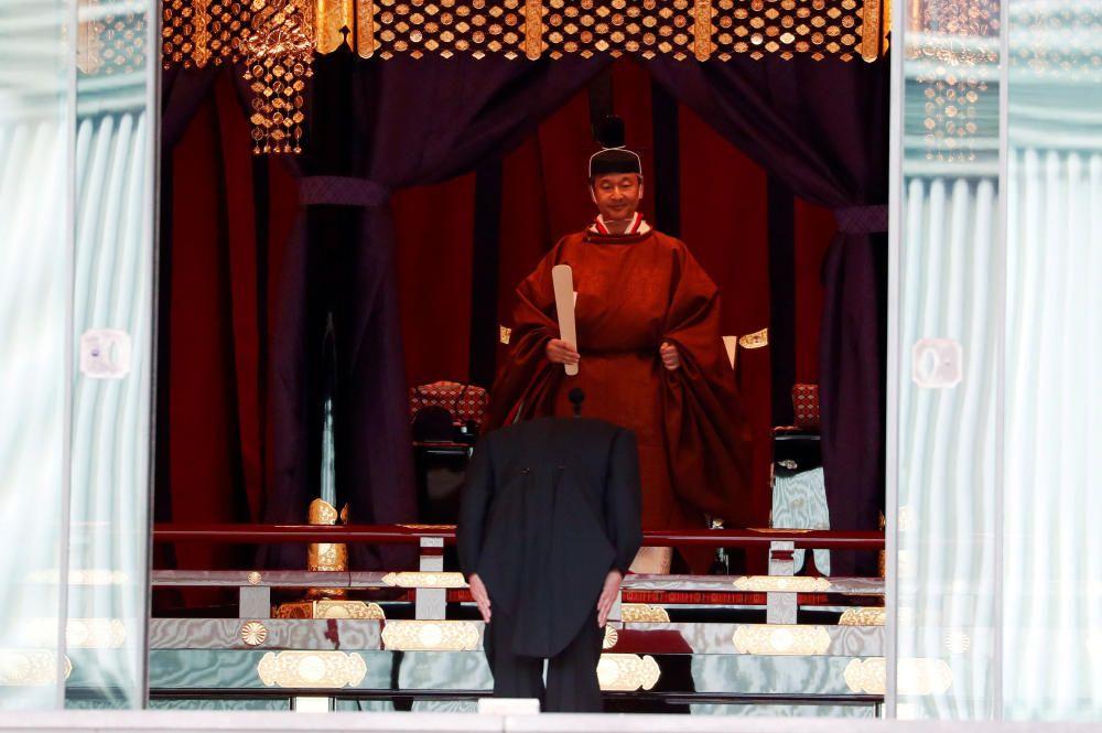 Ceremonia de entronización del emperador Naruhito