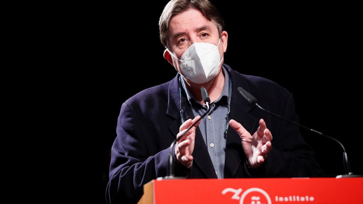Luis García Montero, en la presentación del Congreso