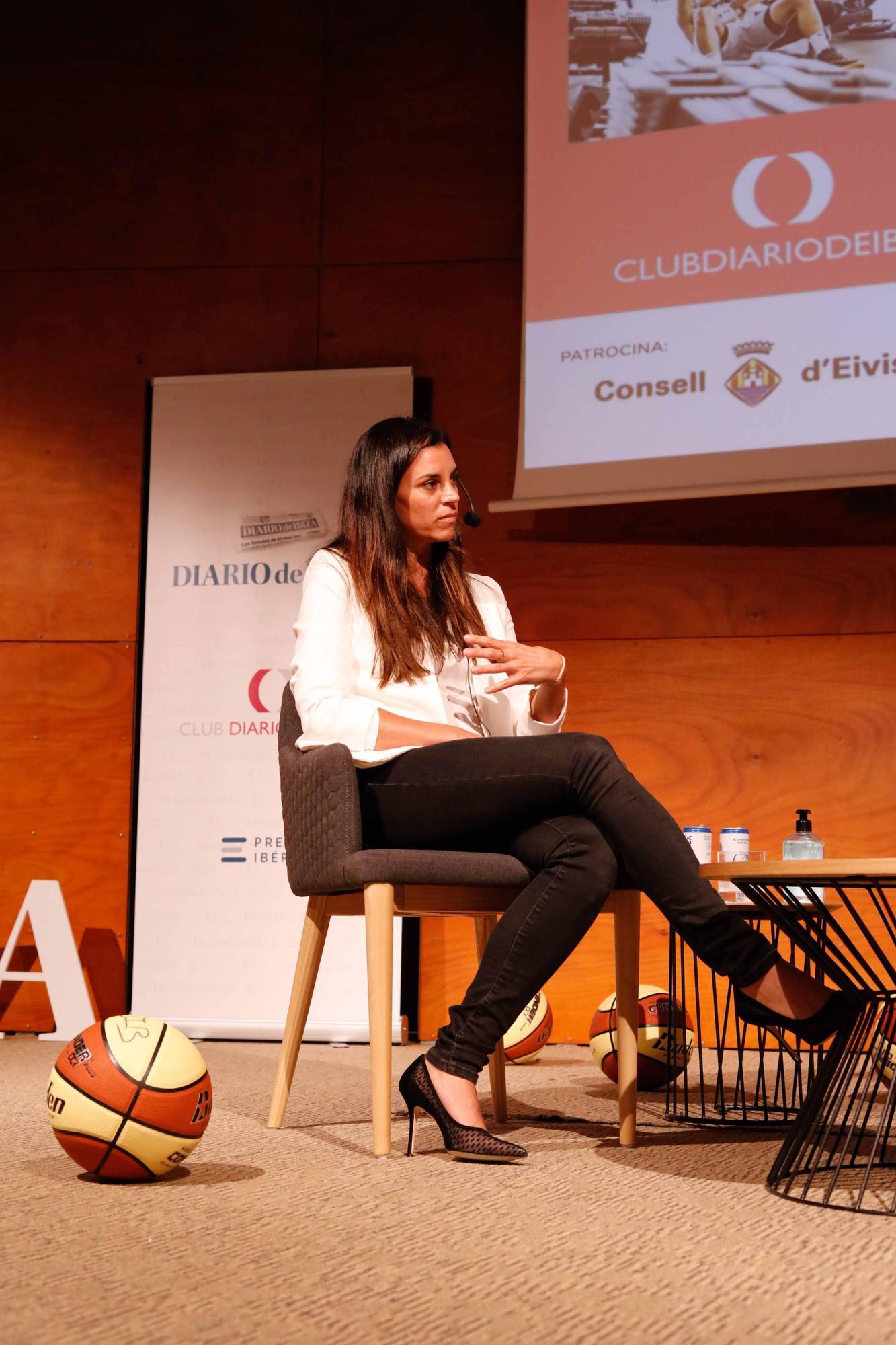 Lorena Torres en el Club Diario de Ibiza