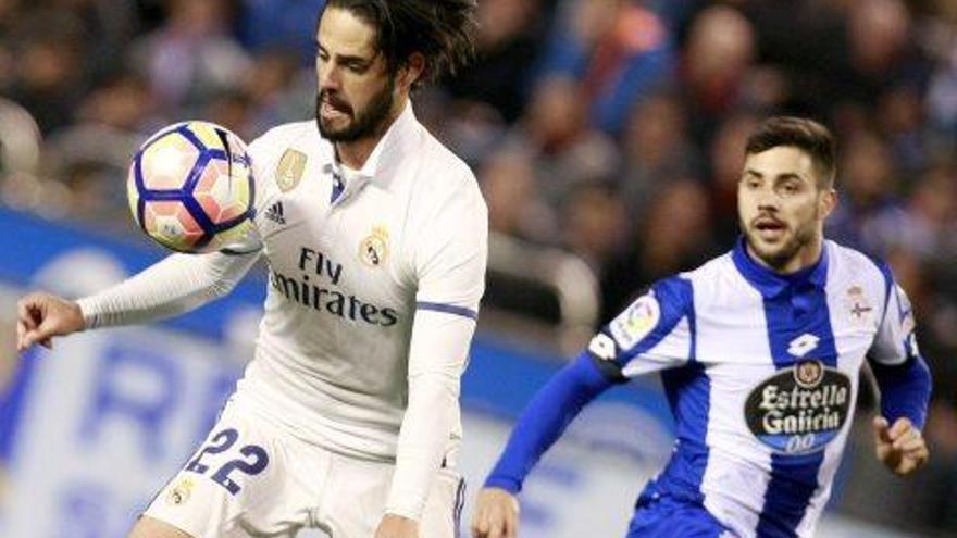 Els suplents del Madrid es reivindiquen amb golejada al camp del Deportivo