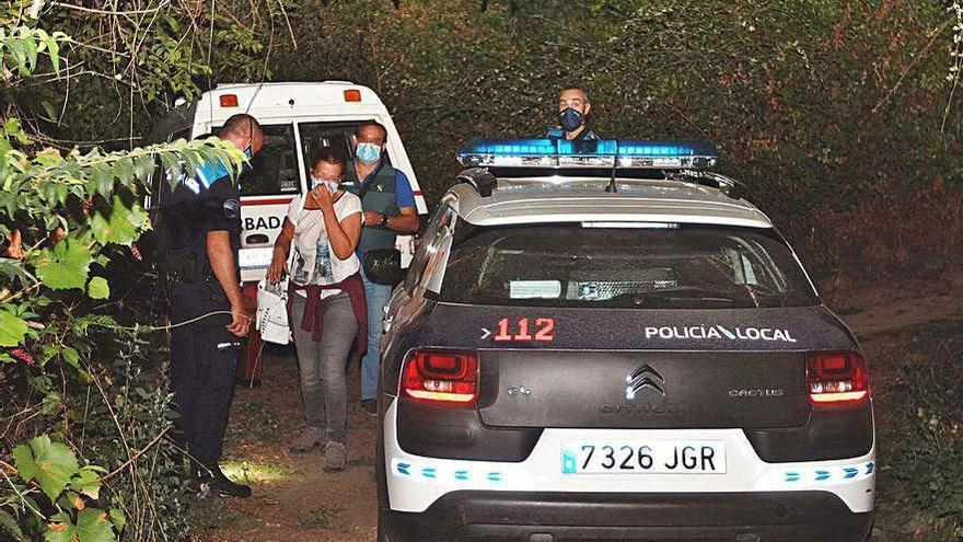 Dos senderistas encuentran el cadáver de Nerea Añel en la localidad de Muíños