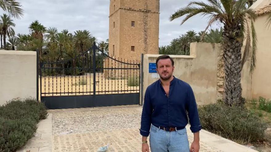 ¿Por qué sigue cerrada la Torre de Vaíllo en Elche?