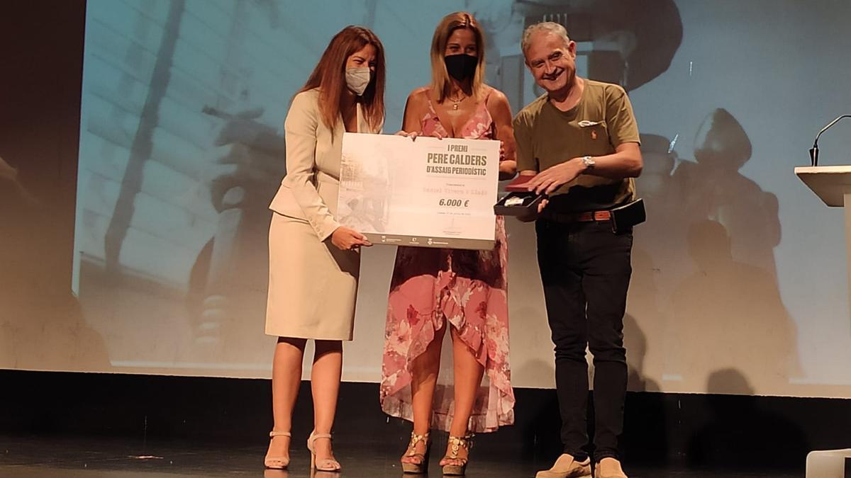 Daniel Vivern guanya el primer Premi Pere Calders d'Assaig Periodístic de Llançà